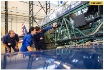 Luchtvaartstudenten op Gilze-Rijen